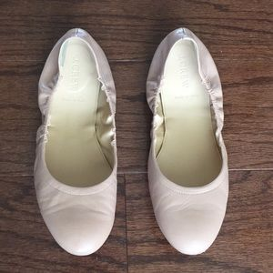 J Crew Emma Leather Ballet Flat